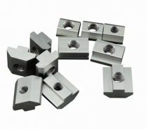 T-nut for Aluminium Extrusion with profile 4040