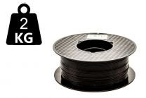 UDEN EMBALLAGE - 2kg - Pirate Black - 3DE Premium PLA - 2.85mm