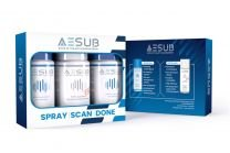 AESUB - 3D Scanning Spray Kit (3x 25 ml.) - Kun én pr. kunde