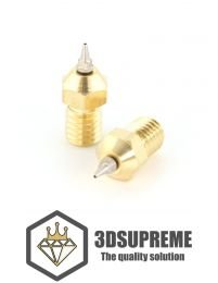 MK8 Airbrush Nozzle with Adaptor - 3DSUPREME - 0.4mm - 1.75mm