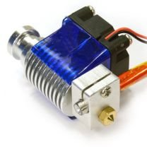 V6 12V 1.75mm 0.4mm All Metal Hot End With Fan (with titanium alloy) - Direct Drive