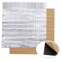 Foil Self-Adhesive Heat Insulation Cotton - 300x300x10mm