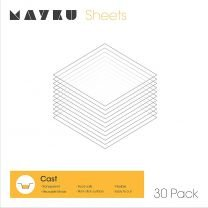 Mayku Cast Sheets - Transparent