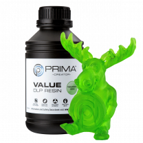 Primacreator Value UV/DLP Resin - Transparent Green - 500ml