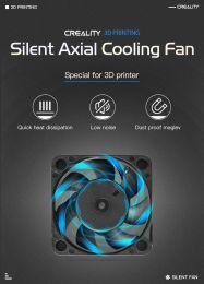 40x40x10 24V Flow Silent Fan - Creality 3D - Ex. CR10 Series, Ender-3 Series, Ender-5 Series