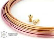 3DSUPREME - V6 - Brass - 1.75mm (Pick a Size)